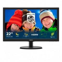 MON 21,5W-LED VGA HDMI VESA PHILIPS 223V5LHSB 16:9 600:1 5MS