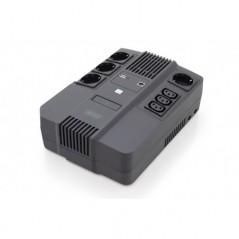 GRUPPO DI CONTINUITA' 600 VA/360 WATT 4 PRESE SCHUKO, 3 IEC C13 USB, RJ45 DIGITUS