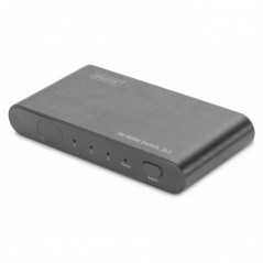SWITCH HDMI 4K HIGHSPEED 2.0 SWITCH, 3X1 UHD 4K*2K@60HZ, FULL 3D ALLOGGIAMENTO ALLUMINIO